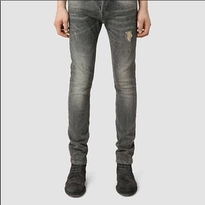 All Saints Raveline Cigarette Jeans Grey 32